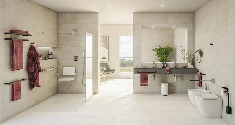 Accesorios para dar un estilo propio y personalidad al espacio de baño
